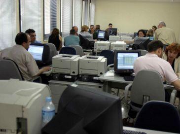 Detienen a 18 personas por una trama de fraude en el iva for Oficina de hacienda madrid