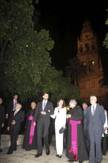 Los pr ncipes inauguran la sublime visita nocturna a la - Visita nocturna mezquita de cordoba ...