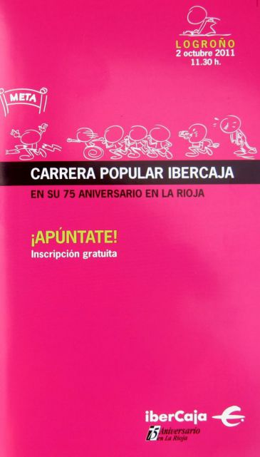 La carrera popular 39 ibercaja 39 tendr lugar el 2 de octubre for Ibercaja valencia oficinas