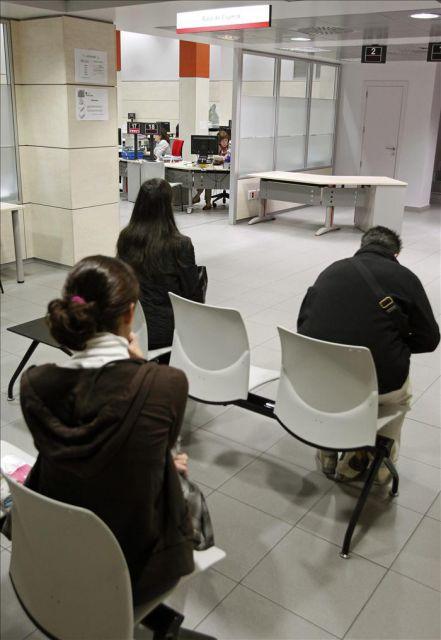 Oficina del inem en la calle evaristo san miguel en for Oficina inem