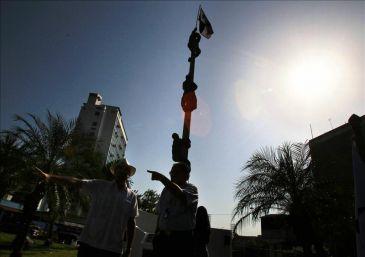 La sociedad civil paname a conmemora los enfrentamientos for Cementerio jardin de paz panama